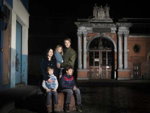 Tom, Nina, Isaac, Kael and Sophia - Leaving Dublin