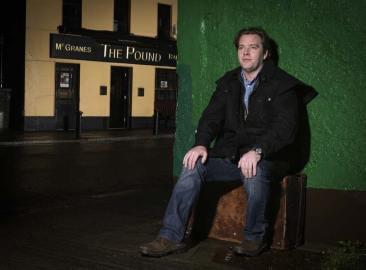 Alan Pentony - Leaving Ireland, David Monahan