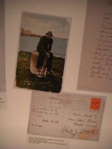 Joyce's postcard to Svevo