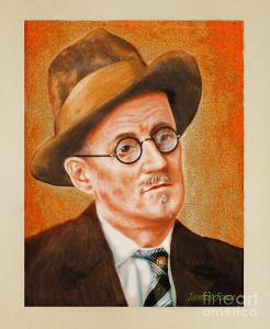 James Joyce portrait. Credit Jerry Kool