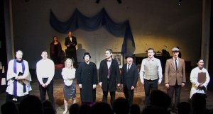 'Look at the Coffin' - a curtain-call for 'The Seven Ages of Joyce'