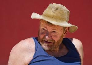 Wayne Pearn as the irrepressible Monk O'Neill.