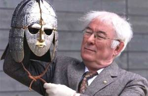 Seamus Heaney with Armour