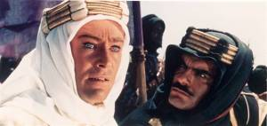 O'Toole and Sherif in 'Lawrence of Arabia'