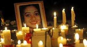 Candle-lit vigil for Savita