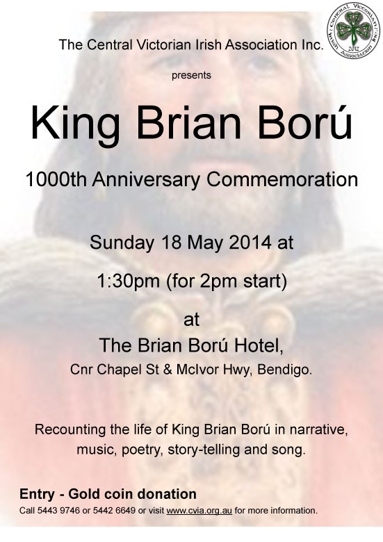 King Brian Boru 1000th Anniversary Commemoration