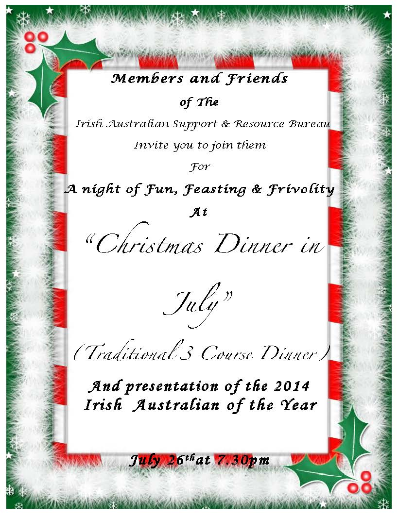 Christmas in July at the Celtic Club | Tinteán