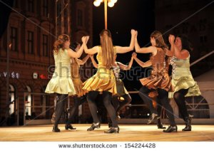 stock-photo-zagreb-croatia-july-members-of-folk-groups-o-shea-ryan-irish-dancers-from-australia-during-154224428
