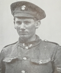 William Cosgrove VC. Credit Irish Life