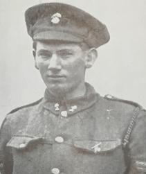 William Cosgrove VC. Credit Irish Life