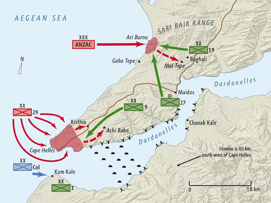 Gallipoli – an Irish, as well as an Australian, campaign ...