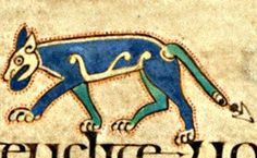 Wolf. Book of Kells