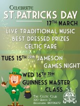 Celtic Club Activities.