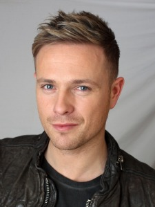 Singer Nicky Byrne of Westlife poses for a portrait shoot in London on October 17, 2010.