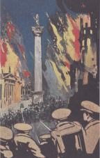 Cover of a book published in London in 1916, Six Days of the Irish Republic by G. Atkinson