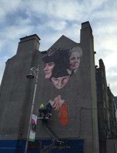 Women of 1916 Mural. Credit The Journal