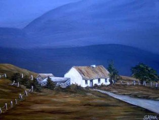 Cottage in Mayo by Siobhán Knox