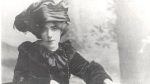 Muriel Gifford shortly before her marriage.