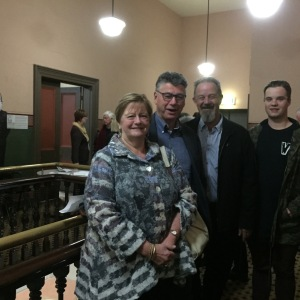 Casement family members at premiere of new play about Sir Roger Casement.
