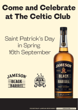Celebrate at the Celtic Club