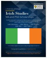 Postgraduate Scholarship in Irish Studies, University of Otago, Dunedin