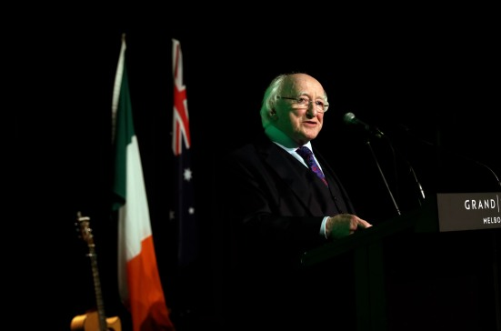 MELBOURNE PRES HIGGINS SPEECH MX