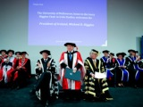 President Higgins at Melbourne University