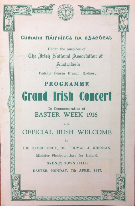 Image 11 Easter Week Concert front page