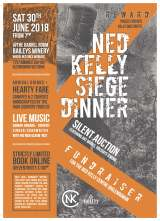 Ned Kelly Fundraising Dinner in Glenrowan